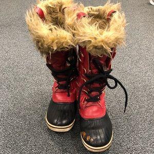 Joan of Arc Sorel boots!
